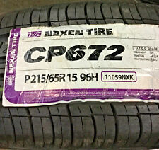 4 New 215 65 15 Nexen CP672 Tires