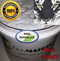 Tiger White HO/ LB Fast Flash Plastisol - Non Phthalate- Screenprint Ink PINT