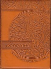 Lindsay High School Oklahoma OK 1953 Leopard Yearbook Annual HS