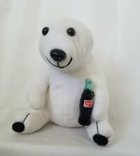 Coca Cola Polar Bear holding Coke Bottle Plush