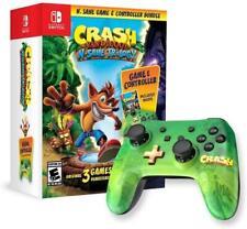Crash Bandicoot: N. Sane trilogía y controlador Paquete (Nintendo Switch, 2018)