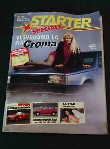 SPECIALE STARTER N.50 1985 con foto e poster di serena grandi
