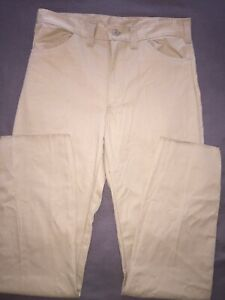 PRISON INMATE WEAR 36 X 39 Khaki UNIFORM Prisoner Made UNHEMMED Jail Pants Work