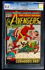 Avengers #97 CGC 8.5 Golden Age Timely Characters Appear March 1972