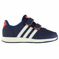 adidas Kids Switch Infants Trainers Runners Hook and Loop Stripe