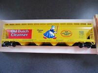 TYCO HO SCALE OLD DUTCH CLEANSER CENTER FLOW HOPPER TRAIN CAR 358 F