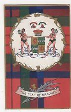 The Clan of Macduff, Tartan Heraldic Postcard, B337