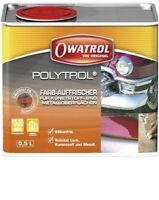 POLYTROL 0.5L RENOVATEUR GEL-COAT PLASTIQUE INOX METAL MARBRE CARRELAGE PEINTURE