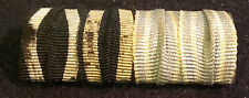 ✚5879✚ German ribbon bar pin WW1 Iron Cross Bavarian Military Long Service Medal