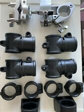 """Bundle - Drum Set Parts for 1.5"""" Tube: Omni Ball Clamp, T-Clamps, Tube Feet"""