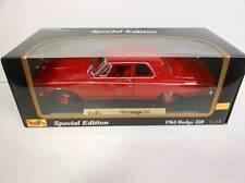 Maisto 1963 Dodge 330 Red (Die-cast - 1:18 Scale)