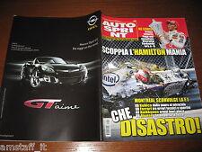 AUTOSPRINT 2007/24=GP F1 CANADA=HAMILTON=KUBICA KO=GRANHOLM=PUBBLICITA' OPEL GT=