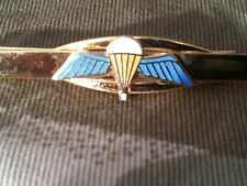 Parachute Qualification Wings Para Tie Clip Military Slide