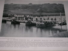 1896 ROYAL ENGINEERS NO.11 FIELD CO BRIDGING PRACTICE