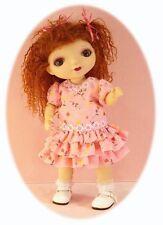 BJD dress pattern for Goodreau ABC dolls, by Gracefaerie; 3 dresses