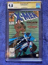 Uncanny X-men 256, cgc 9.8 signature series Claremont, first new Psylocke,
