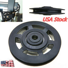 Universal Bearing 97mm Nylon Pulley Wheel Cable Gym Fitness Equipment Parts