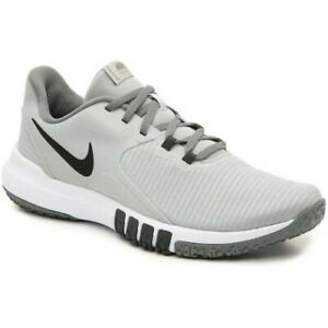 Nike FLEX CONTROL TR4 Mens Grey White CD0197 001 Athletic Sneakers Shoes