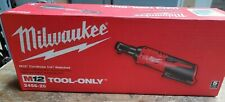 """Milwaukee 2456-20 M12 1/4"""" Cordless Ratchet (Tool Only)  NEW!!"""