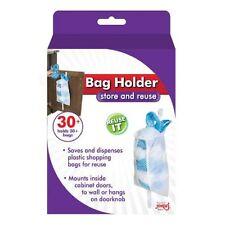 Jokari Cabinet Door Plastic Shopping Bag Holder