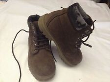 Timberland waterproof - genuine leather - alte - marrone scuro - N° 30 - USATE