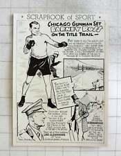 1950 Chicago Boxer Barney Ross, W Broadbridge, Schoolboy Bowler, Lord Alexander