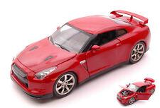 Nissan Gt-R/GT 2009 Red 1:24 Model JADA TOYS