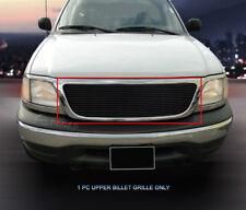 Black Upper Billet Grille Grill  For Ford F-150 1999-2004