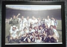 WEST HAM UNITED FA CUP WINNERS 1980 SIGNED PHOTOGRAPH FRAME