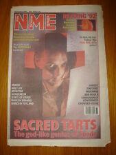 NME 1992 SEP 5 SACRED TARTS MORRISSEY MOOSE HOLY JOY