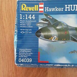 REVELL 1/144 HAWKER HUNTER FGA.9 kit ref. 04039 new old stock boxed & sealed