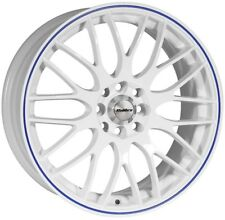 "ALLOY WHEELS X 4 15"" WB MOTION FITS AUDI 80 90 100 FORD MAZDA 121 2 VOLVO 4x108"