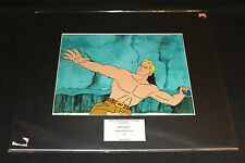 Original The New Adventures of Flash Gordon Animation Cel 2pc Lot