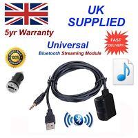 Universal Bluetooth Music Streaming Module & 1.0A Power Adapter USB & Aux input