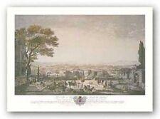 La Ville Et La Rade De Toulon Joseph Vernet Art Print 14x24