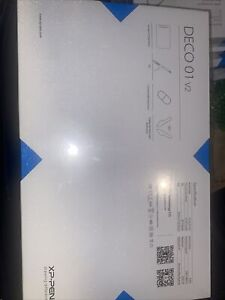 XP-PEN Deco 01 V2 drawing tablet New in sealed box Free Shipping
