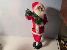 Byers Choice Retired 1998 Talbots Exclusive Dancing Santa Claus with Garland