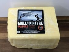 Mull Of Kintyre Mature Scottish Cheddar Cheese 1.25kgVegetarian Not Black Bombe