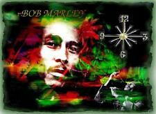 Bob Marley wall clock They make great gifts
