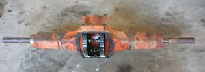 Case VAC 14 tractor rearend assembly eagle hitch mount vac13 part late vac parts