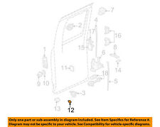GM OEM Front Door-Bumper 15039965