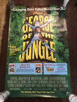 George of the Jungle 1997 Movie Poster Brendan Fraser