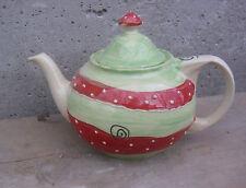 Spülmaschinenfeste Teekannen im Landhaus-Stil aus Keramik