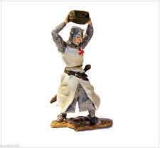 Soldados de Plomo - TEMPLARIOS - Caballero templario tirando una piedra - TTS042