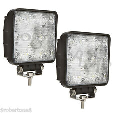 Coppia fari LED universali supplementari quad moto 12/24volt lavoro camion jeep
