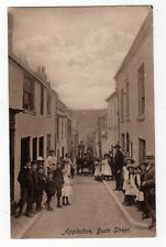DEVON, APPLEDORE, BUDE STREET, CROWD, HORSE & CART