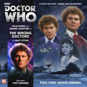 Doctor Who: The Wrong Doctors - Big Finish 169 - Sixth Doctor Colin Baker 6th