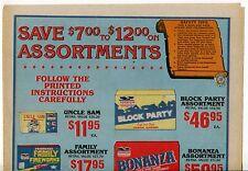 """1986 Vintage Sales Sheet: """"FREEDOM FIREWORKS"""""""