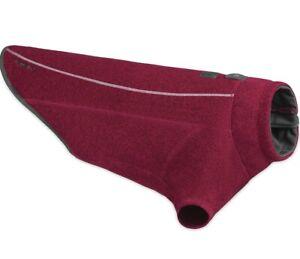 "Ruffwear Fernie Sweater Knit Jacket Size XSmall 17-22"" Hibiscus Pink New"