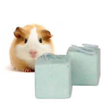 Small Animal Pet Hamster Rabbit Rat Mineral Chew Cube Teeth Grinding Stone To LZ